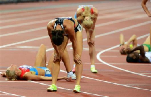 The after effects of excessive lactate accumulation during a race. Source :www.windsorstar.com